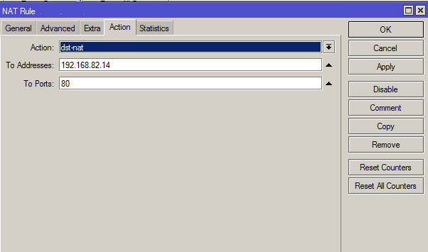 Cara Konfigurasi Port Forwarding pada Mikrotik